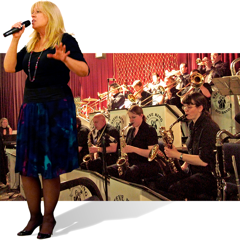 Lynn Dawes and the Steve King Big Band